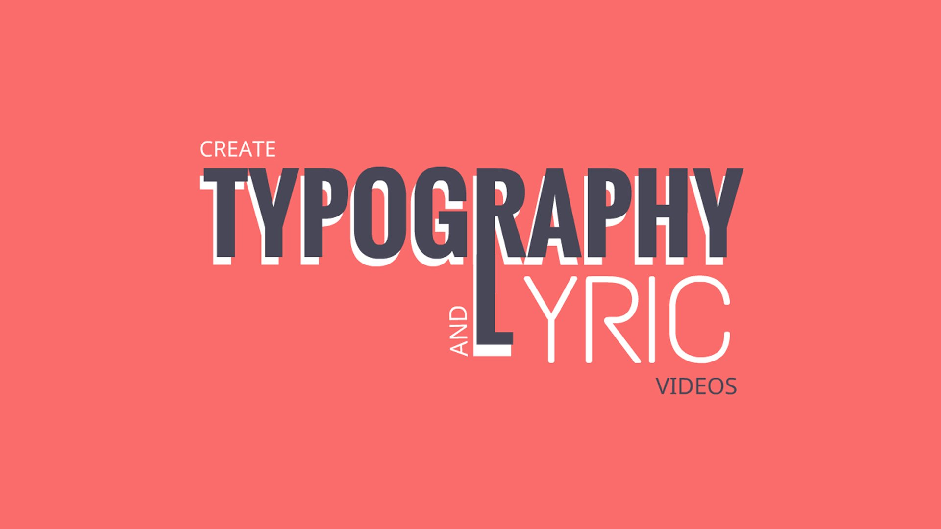 Lyrics Animated Explainer Video Software