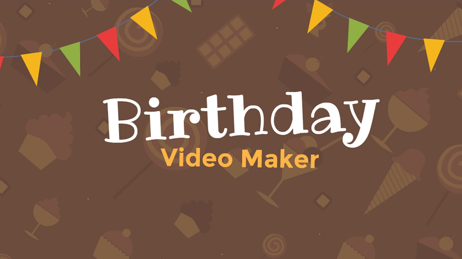 Birthday video maker with free templates and songs birthday animated explainer video software toneelgroepblik Images