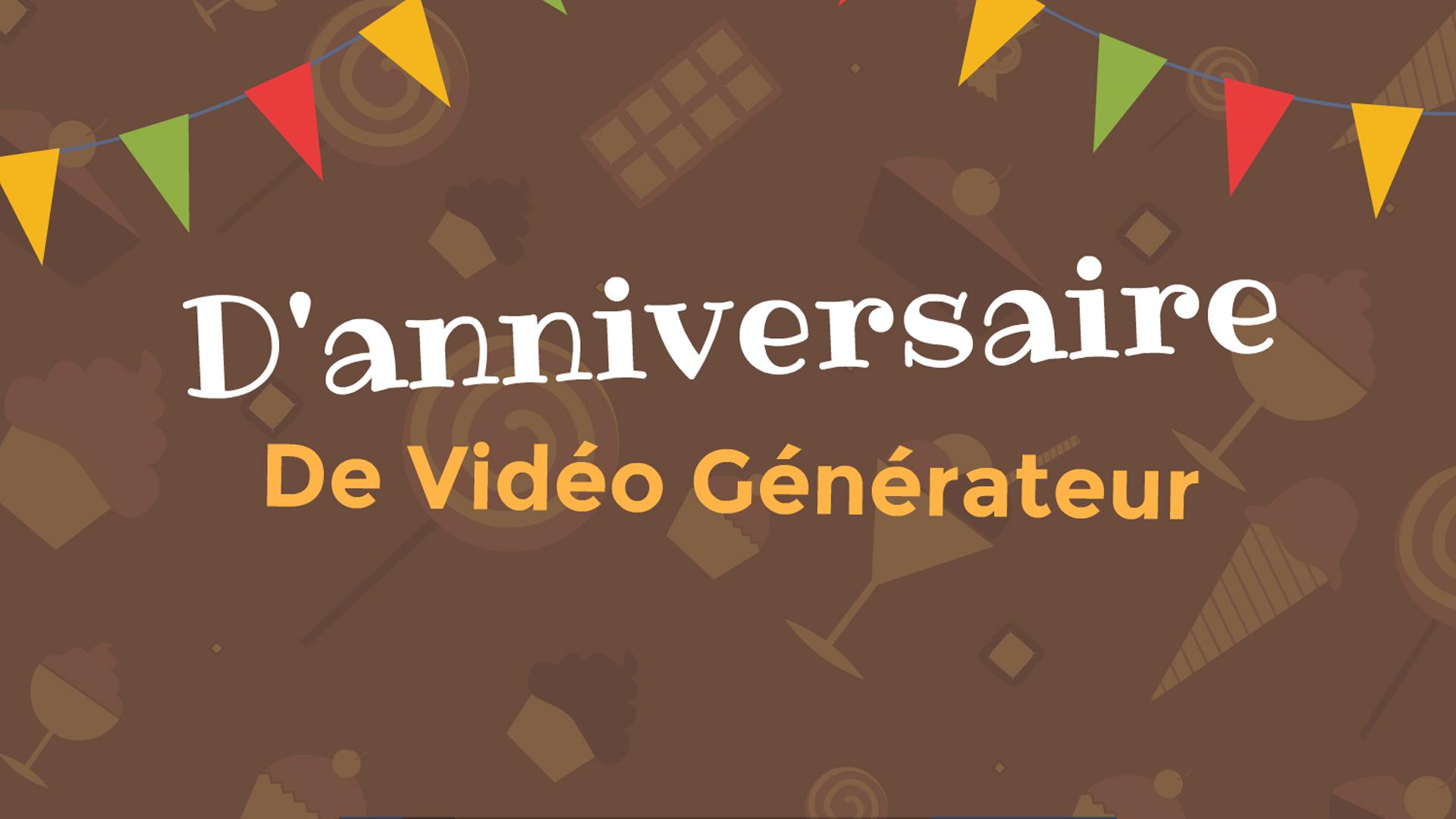 Generateur De Videos D Anniversaire Avec Modeles Gratuits Et Chansons