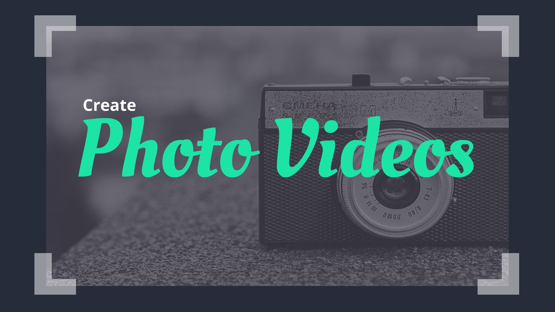 Add photo to video song online