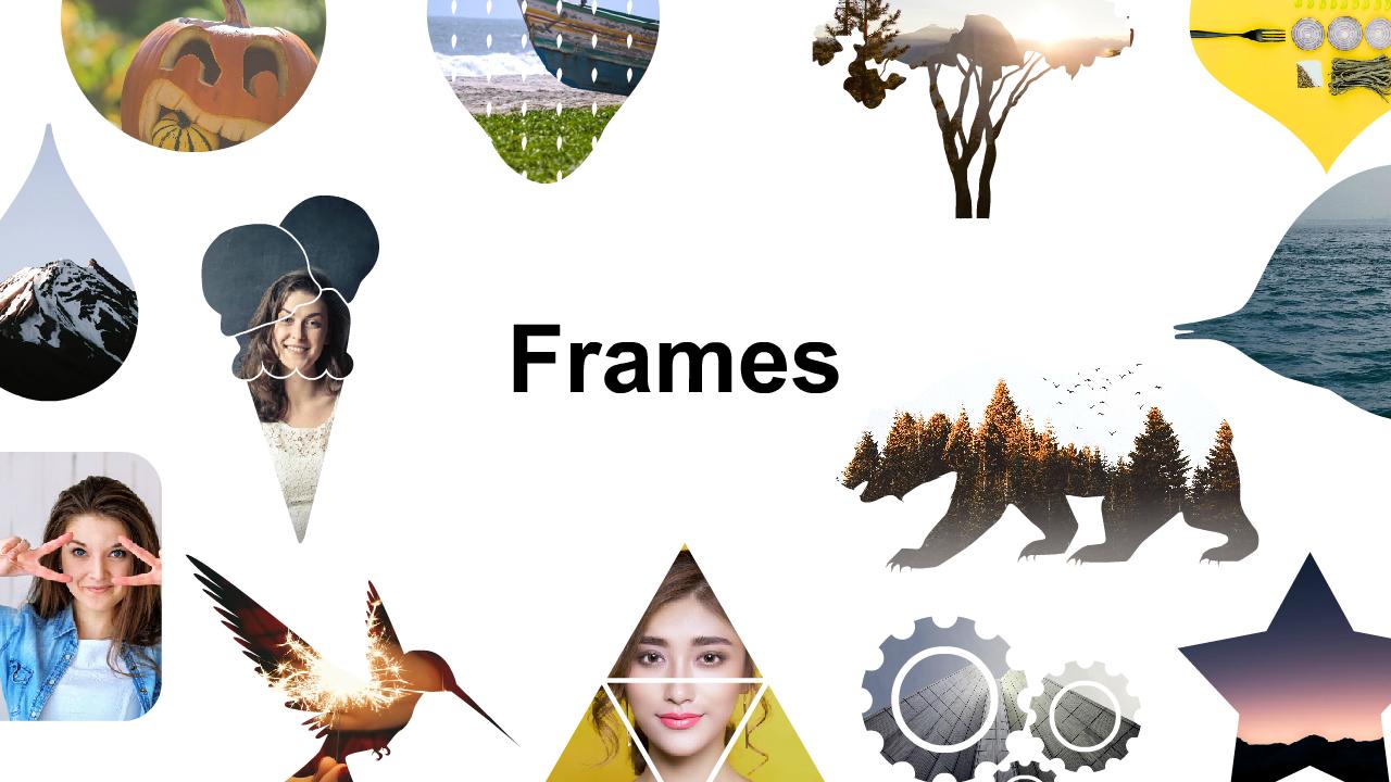 Picmaker frames