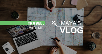 Travel YouTube channel art template